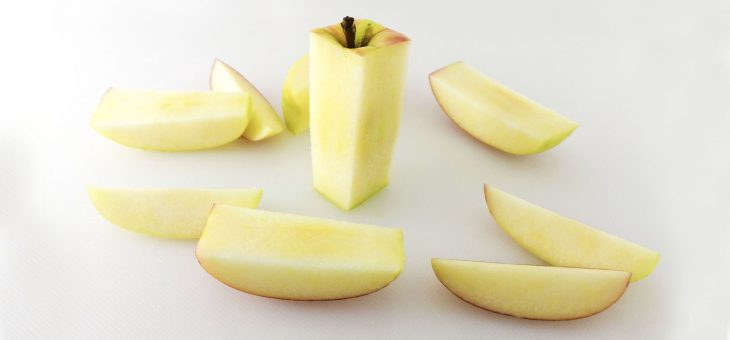 HOW TO CUT AN APPLE THE EASY WAY