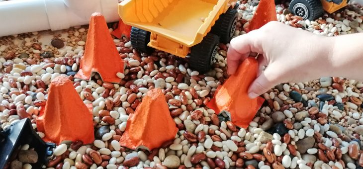 Thinking outside the box: DIY CONSTRUCTION CONES!